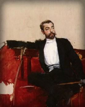 Portrait of John Singer Sargent by Giovanni Boldini. Image: Wikipedia.