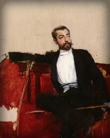 Portrait of John Singer Sargent by Giovanni Boldini. Image: Wikipedia.