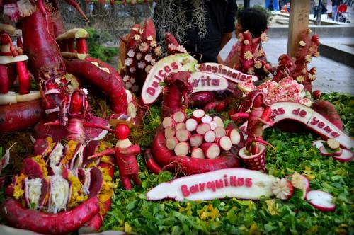 Radish Festival 2014, Oaxaca. Image: Alejandro Linares Garcia; Wikipedia.