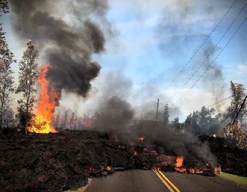 Kīlauea Eruption 2018. Image: USGS.
