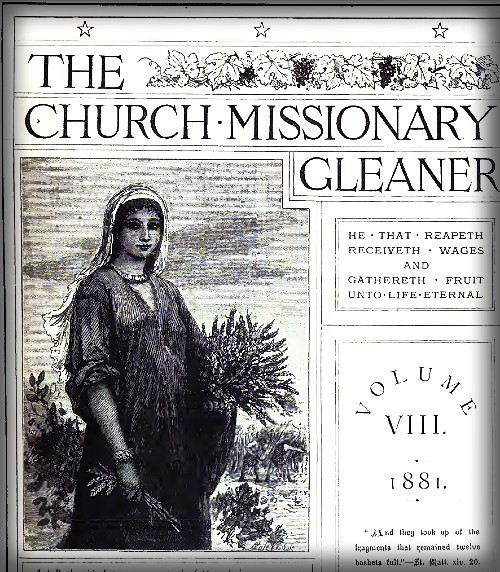The Church Missionary Gleaner, 1881.