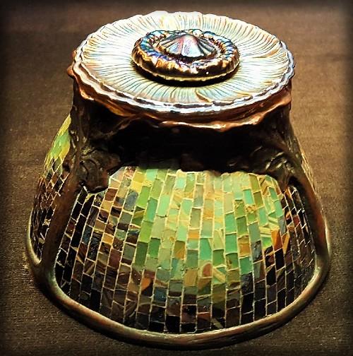 Tiffany inkwell. Image: Cleveland Museum of Art/Wikipedia.