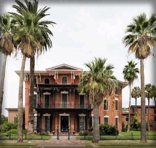 Ashton Villa, Galveston Texas where General Gordan Granger read the order. Image: Library of Congress.