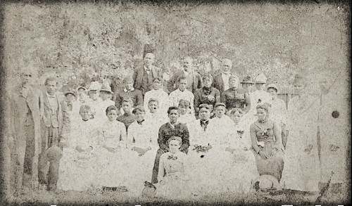 Emancipation Park Juneteenth Celebration, c. 1880s. Image: Image: African American Library at The Gregory School; Houston Public Library.