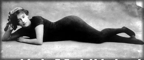 Annette Kellermann. Image: Library of Congress.