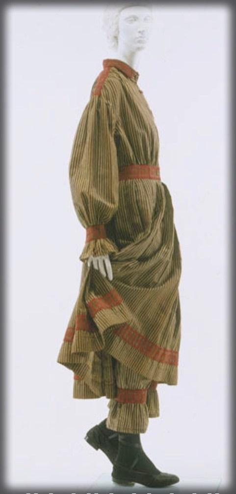 American Bathing Suit, c. 1870. Image: Metropolitan Museum of Art-Wikipedia.