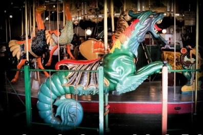 Balboa Park Carousel, Dragon. Image: Friends of Balboa Park.