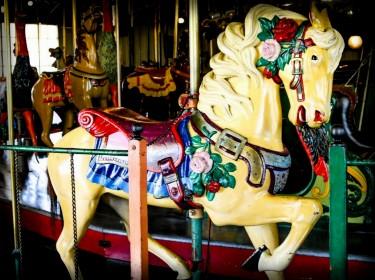 Balboa Park Carouse Horse. Image: Friends of Balboa Park.