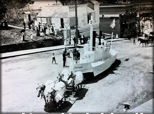 Victorian July Fourth Parades-Ashland, Oregon, c. 1898. Image: Ashland Library.