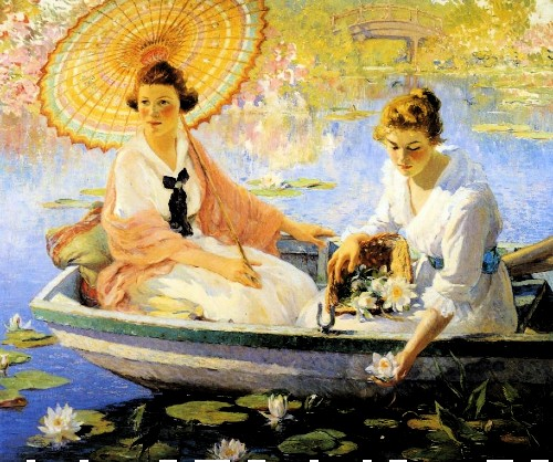 Summer by Colin Campbell Cooper, Image: Athenaeum.org.