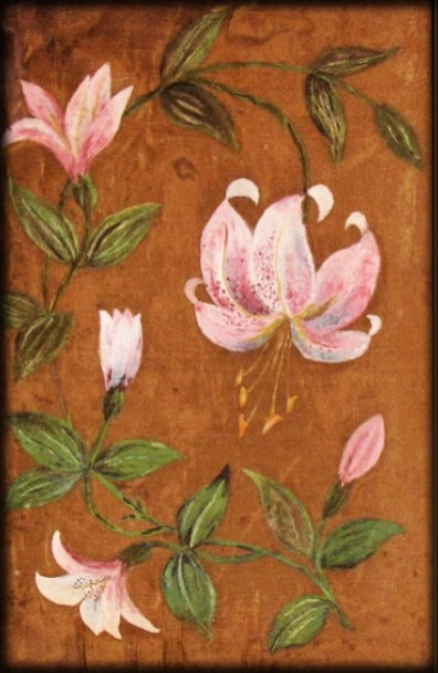 Lilies by Kiulani, 1890s. Image: Electric Scotland.com.