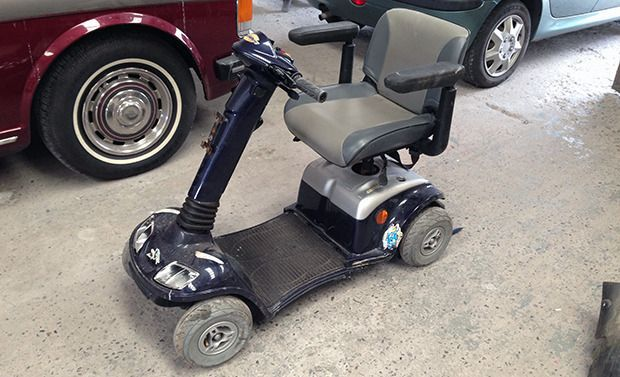 Fastest mobility scooter