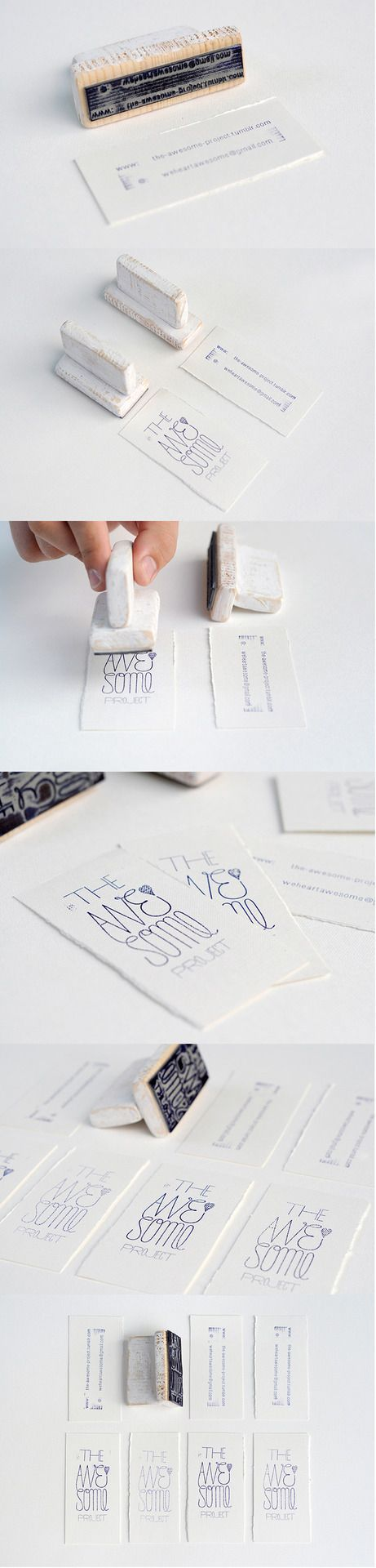 Hand-Made Awesome Business Cards