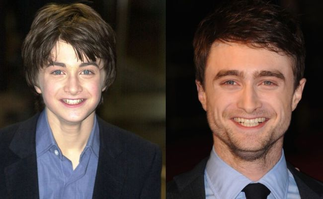 Harry Potter Actors Then And Now