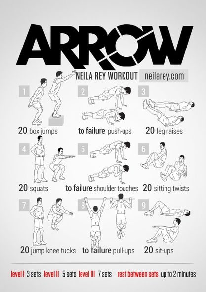 Arrow-workout