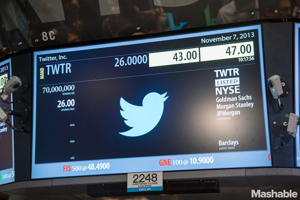 Twitter IPO Screen