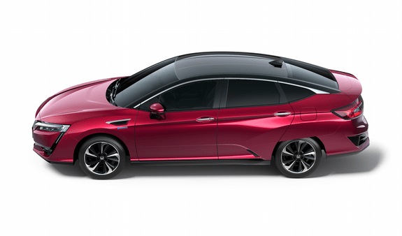 Honda Clarity side