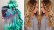 color-melting hair seamlessly replaces