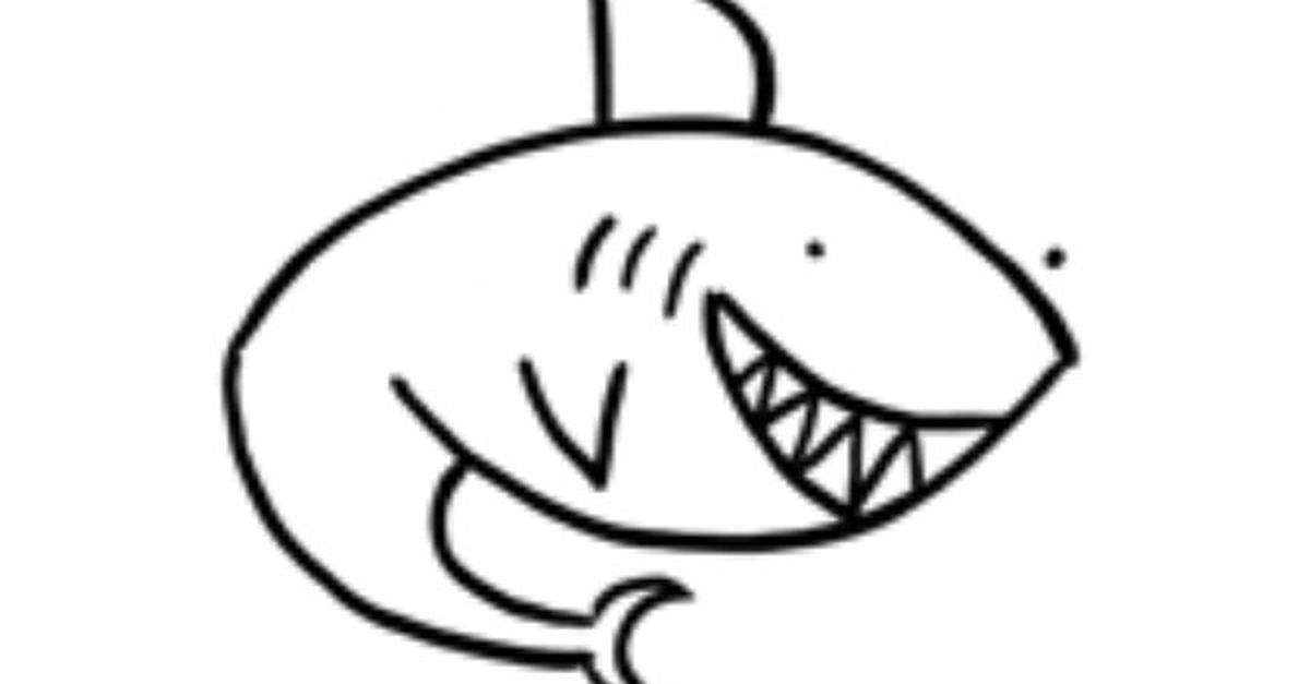 How to Draw a Shark Just in Time for Shark Week