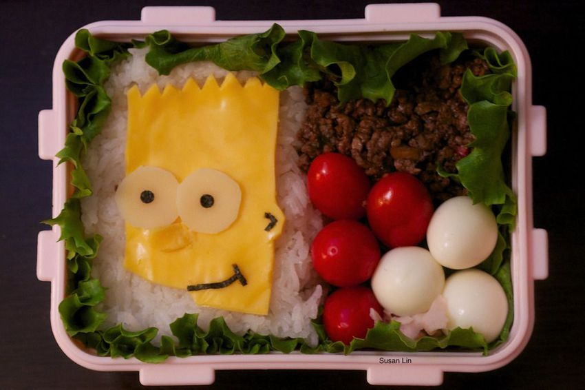 Simpsons-bart-bento-box