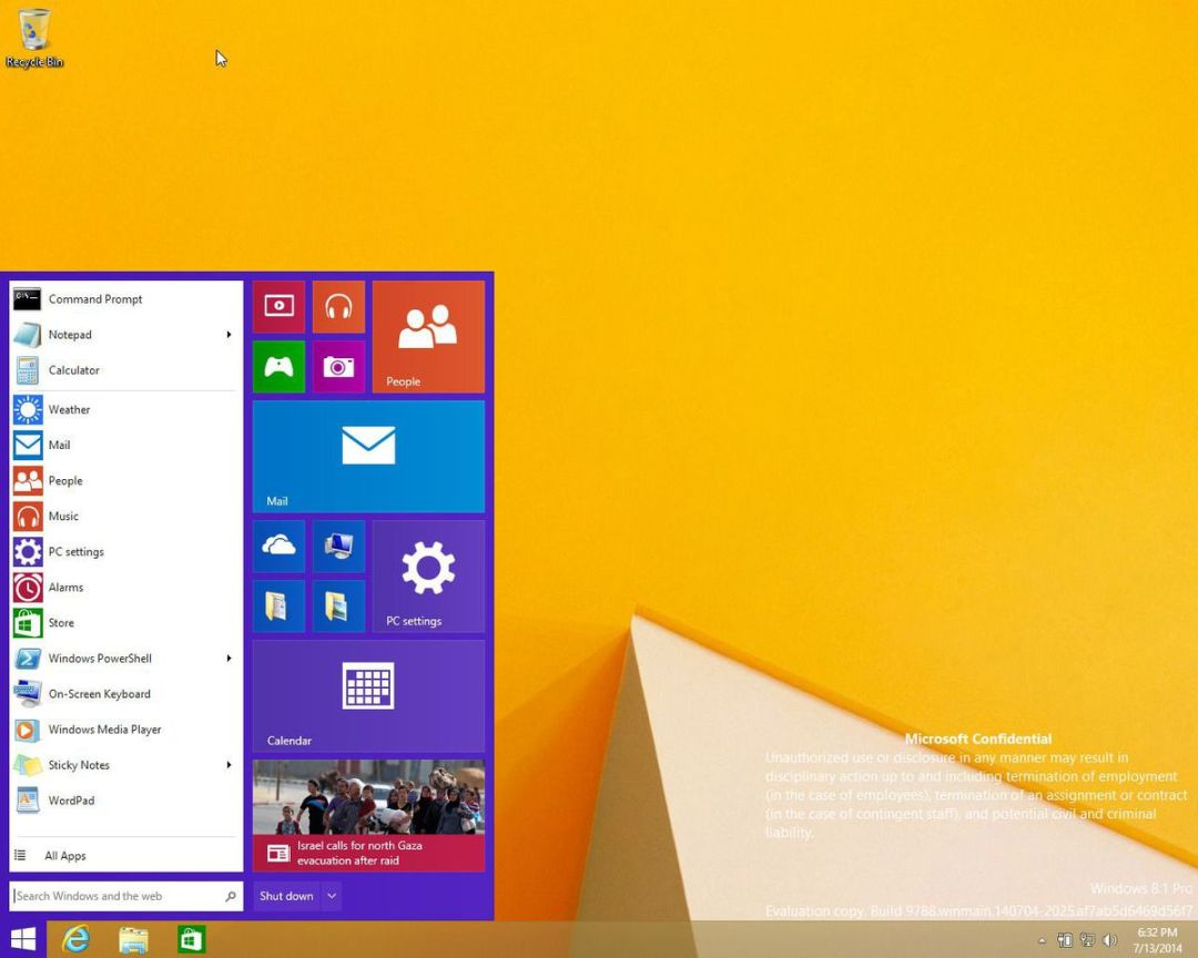 LEAKED: This is what Windows 9 will look like