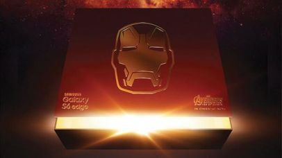 Iron Man Galaxy S6 Edge