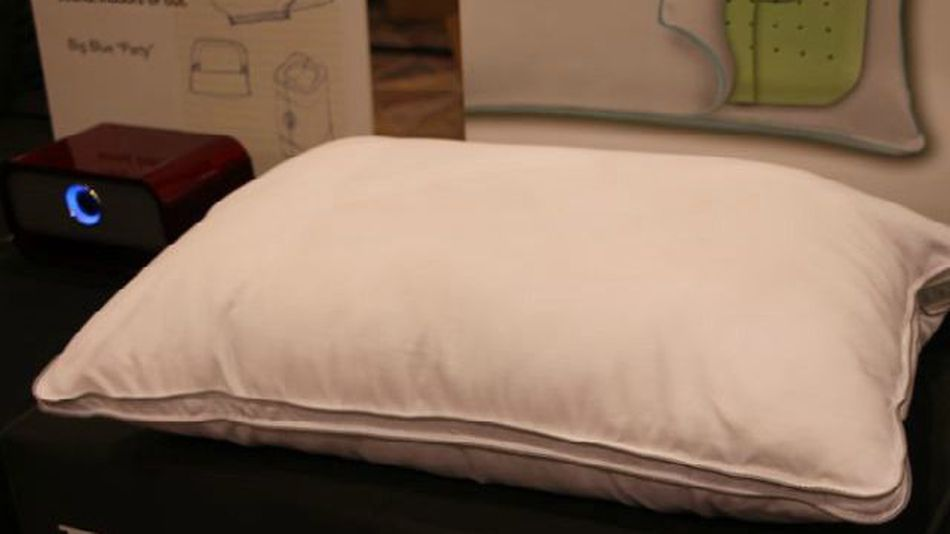 This Pillow Has Builtin Speakers For Listening in Bed