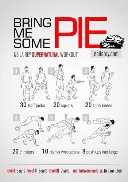 Pie-workout