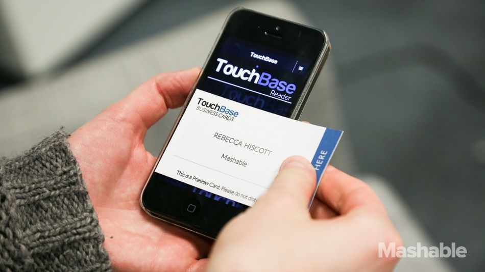 High-Tech Business Cards Digitize Contact Info With a Tap