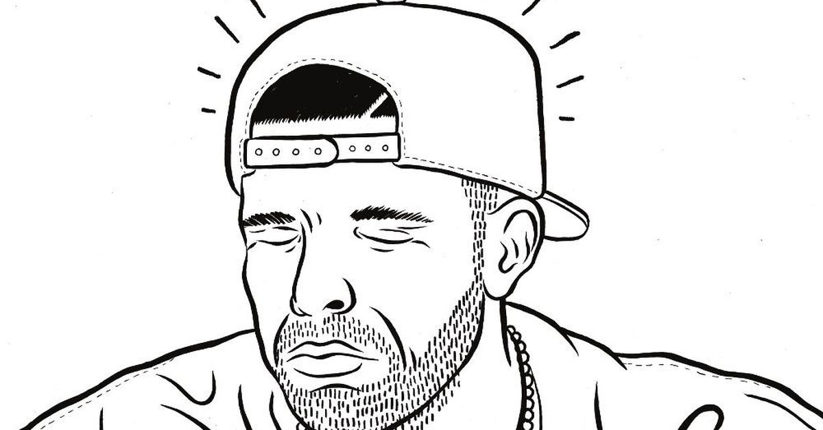 Drake coloring book is the calming presence you need in