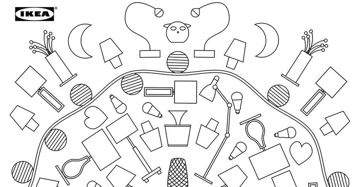IKEA's adult coloring book will take your love of