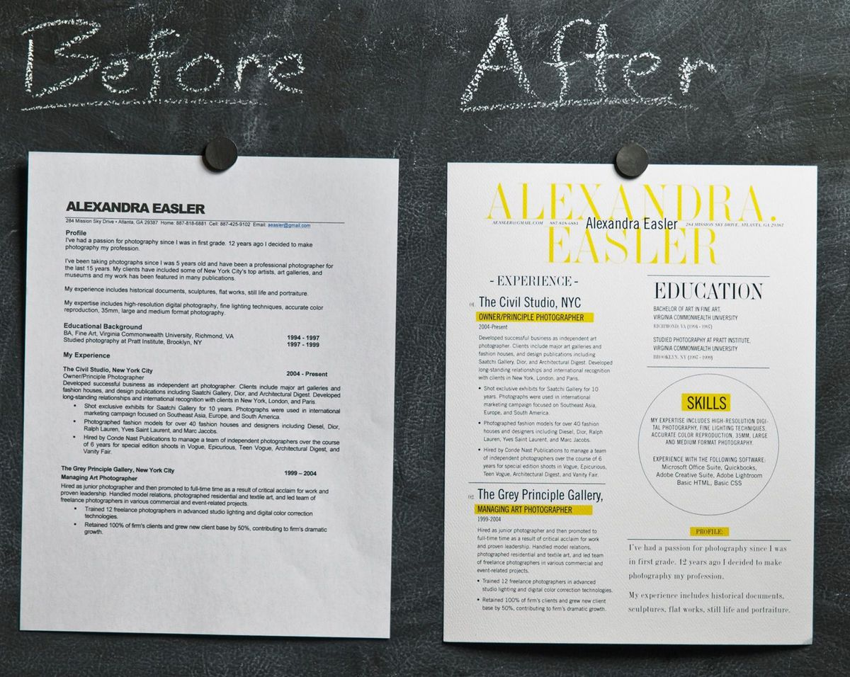 Resumes That Stand Out Can Beautiful Design Make Your Resume Stand Out