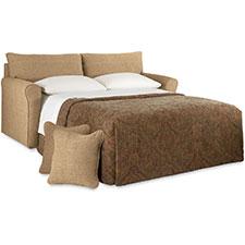 la z boy diana sleeper sofa comfortable queen sleepers leah supreme comfort™ full