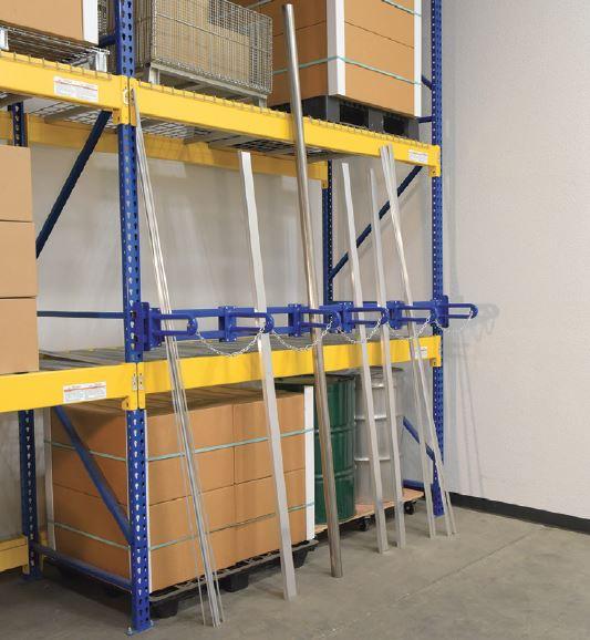vertical bar storage rack warehouse