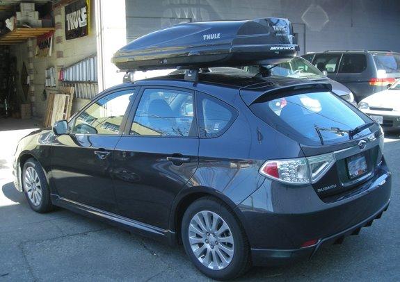 Subaru Impreza 5dr Rack Installation Photos