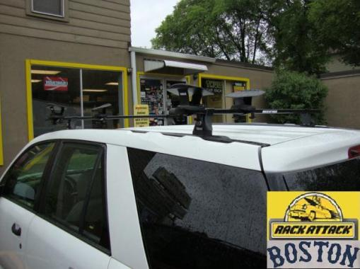 Saturn Vue Roof Rack  Thule Permanent Track Installation