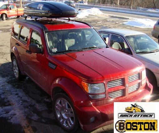 DODGE NITRO  With Bare Roof  Thule Permanent Top Track