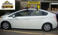 TOYOTA PRIUS WITH THE SOLAR PANEL ROOF  Thule 480R Rapid ...