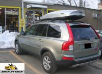 2007 VOLVO XC90 ROOF RACK  THULE 450 CROSSROAD SYSTEM ...