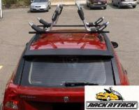 2007 DODGE CALIBER  BARE ROOF  THULE CUSTOM TRACK