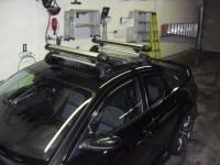 2010 Mazda RX8  Yakima Whispbar Rack installation with ...