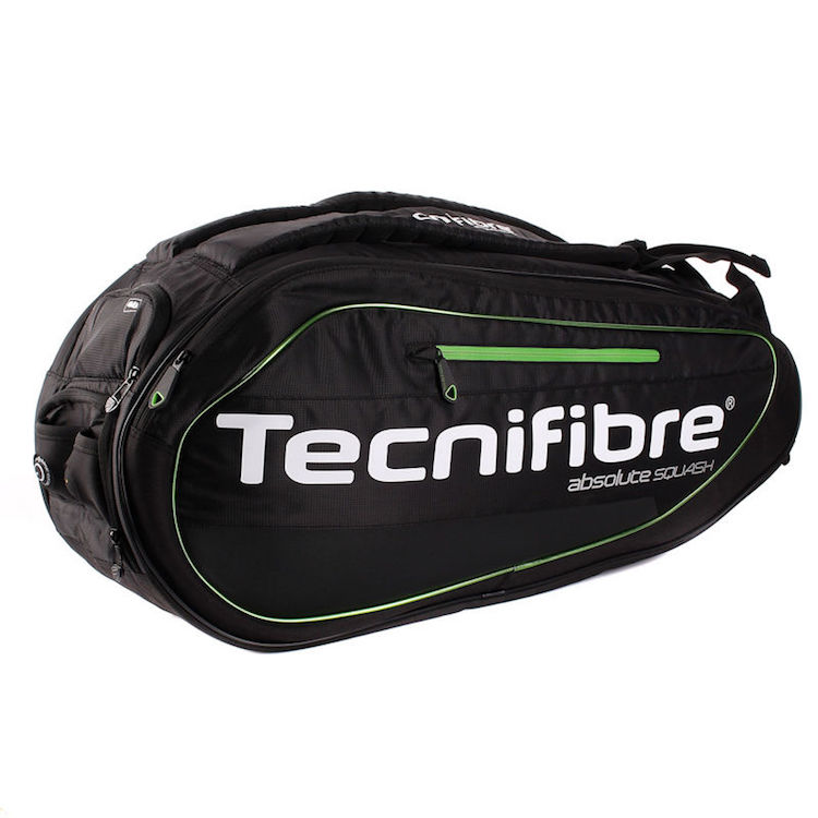 Tecnifibre ABSOLUTE GREEN 9R Squash Bag