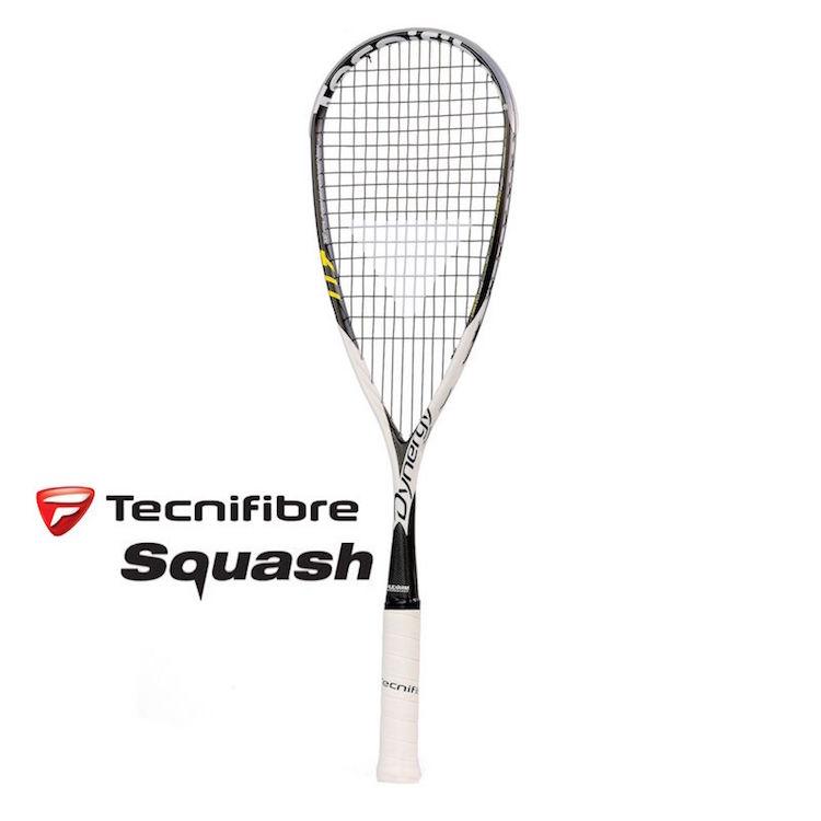 Tecnifibre Dynergy 117 Flex Arm Squash Racquet