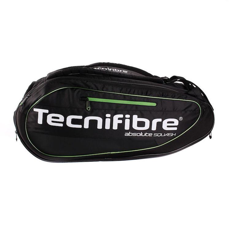 Tecnifibre ABSOLUTE GREEN 9R Squash Bag