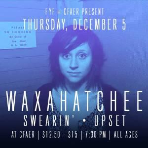 Waxahatchee flyer