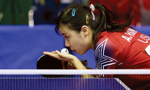 Most important aspect to serving in table tennis