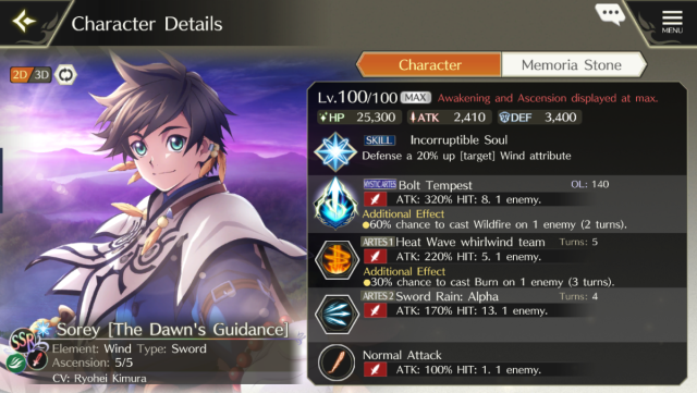 Tales of Crestoria Global Tier list and full guide