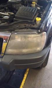 Headlamp Restoration, Brighten your headlights, Headlight repair, car repair, vehicle repair