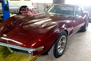 Fancy Car, Corvette, Vintage Car, Mechanic Shop, Car Repair, Vehicle Maintenance, Trustworthy repair, Wilmington, North Carolina