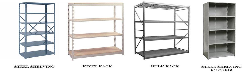 buy industrial steel shelving
